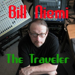 Artwork for our latest release, The Traveler, written and performed by Euphonic Studio's Bill Niemi